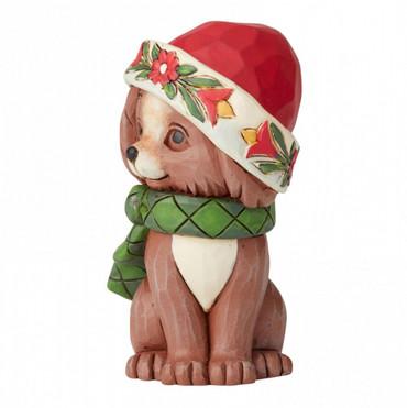 CHRISTMAS PUPPY MINI Figur Jim Shore  – Bild 3