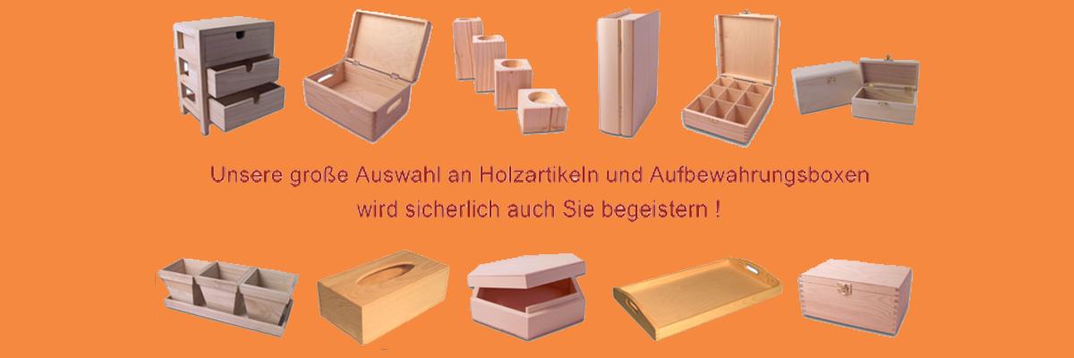 Holzartikel - Holz-Rohlinge