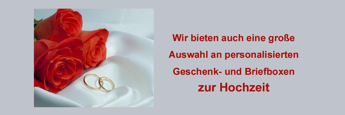 Hochzeit / Silberhochzeit, etc.