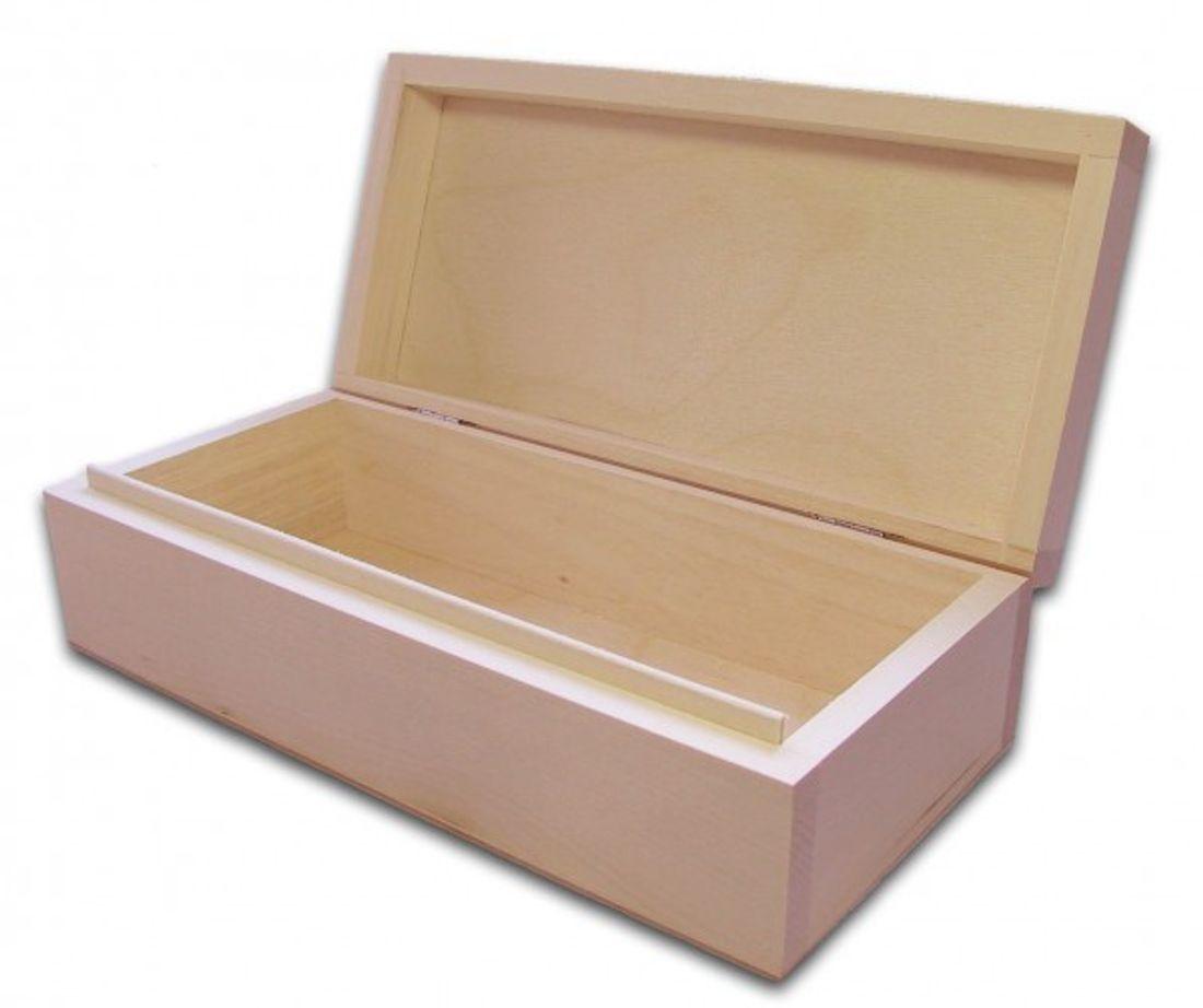 Holzbox, Aufbewahrungsbox, Holz-Schachtel, Linde unbehandelt, incl. Lasergravur
