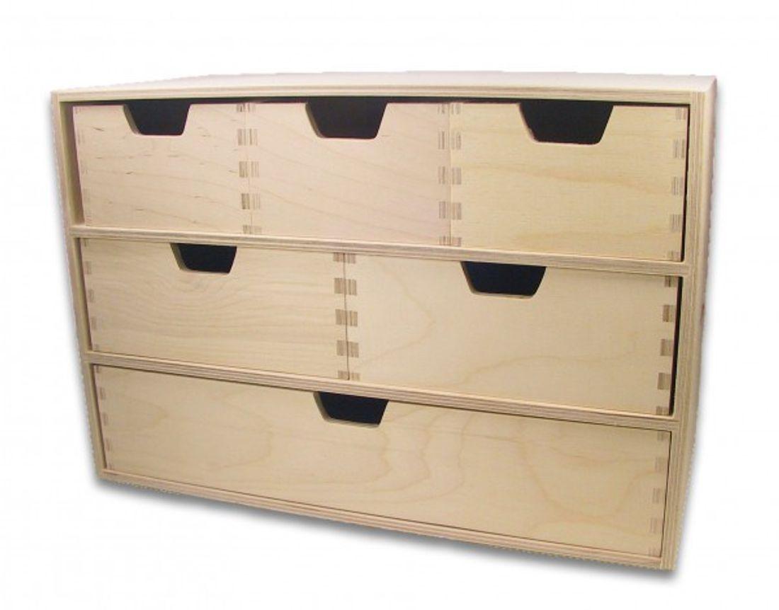 Schubladen Regal Schubladen Kommode Mit 6 Schubladen Holz
