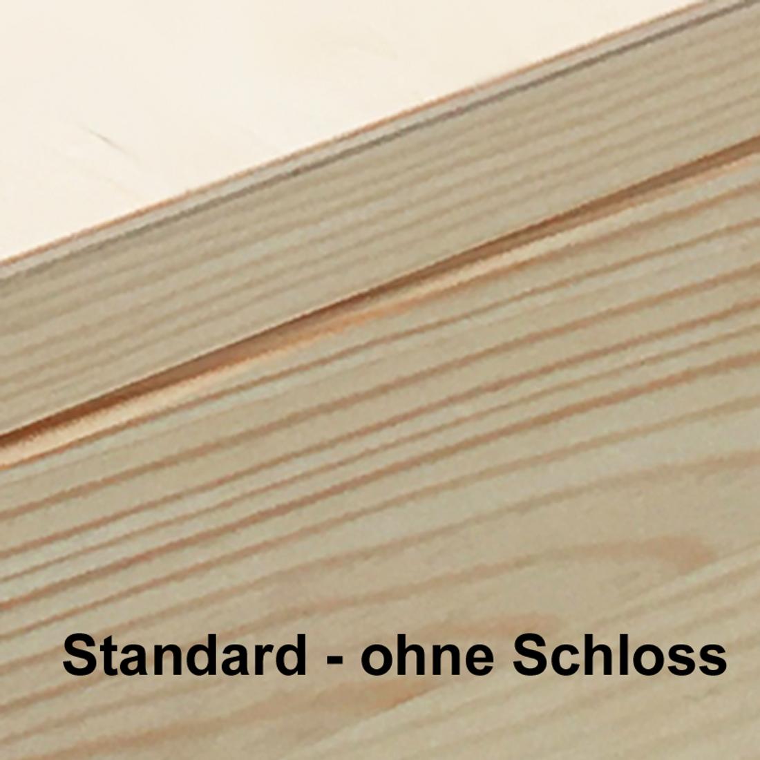 Hochzeits-Holz-Geschenkbox m r11 Deckel Gr 1 Kiefer incl Auswahl-Lasergravur