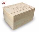Adventskalender Holzbox, Gr. 3, Kiefer unbeh. incl. Auswahl-Lasergravur (A3) Bild 7