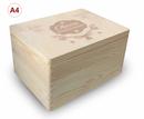 Adventskalender Holzbox, Gr. 3, Kiefer unbeh. incl. Auswahl-Lasergravur (A3) Bild 8