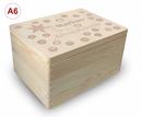 Adventskalender Holzbox, Gr. 3, Kiefer unbeh. incl. Auswahl-Lasergravur (A3) Bild 10
