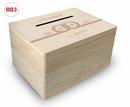 große Holz-Geschenkbox, Hochzeit, Briefbox (BB4) Geldgeschenke incl. Lasergravur, optional auch abschließbar Bild 7