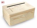kl. Holzbox Briefbox (K3) Konfirmation Kommunion Geldgeschenke incl. Lasergravur Bild 9