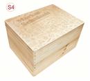 gr. Holz-Erinnerungsbox Schule Einschulung  Gr. 3 incl. Auswahl-Lasergravur (S6) Bild 10