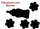 zur Geburt Holz-Geschenkbox Gr. 1 Kiefer incl.Applikationen n. Wahl (Fläschchen) Bild 2