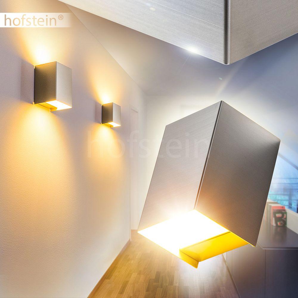Up Down Flur Dielen Lampen weiß Wofi Wand Beleuchtung Wohn Schlaf Zimmer Leuchte