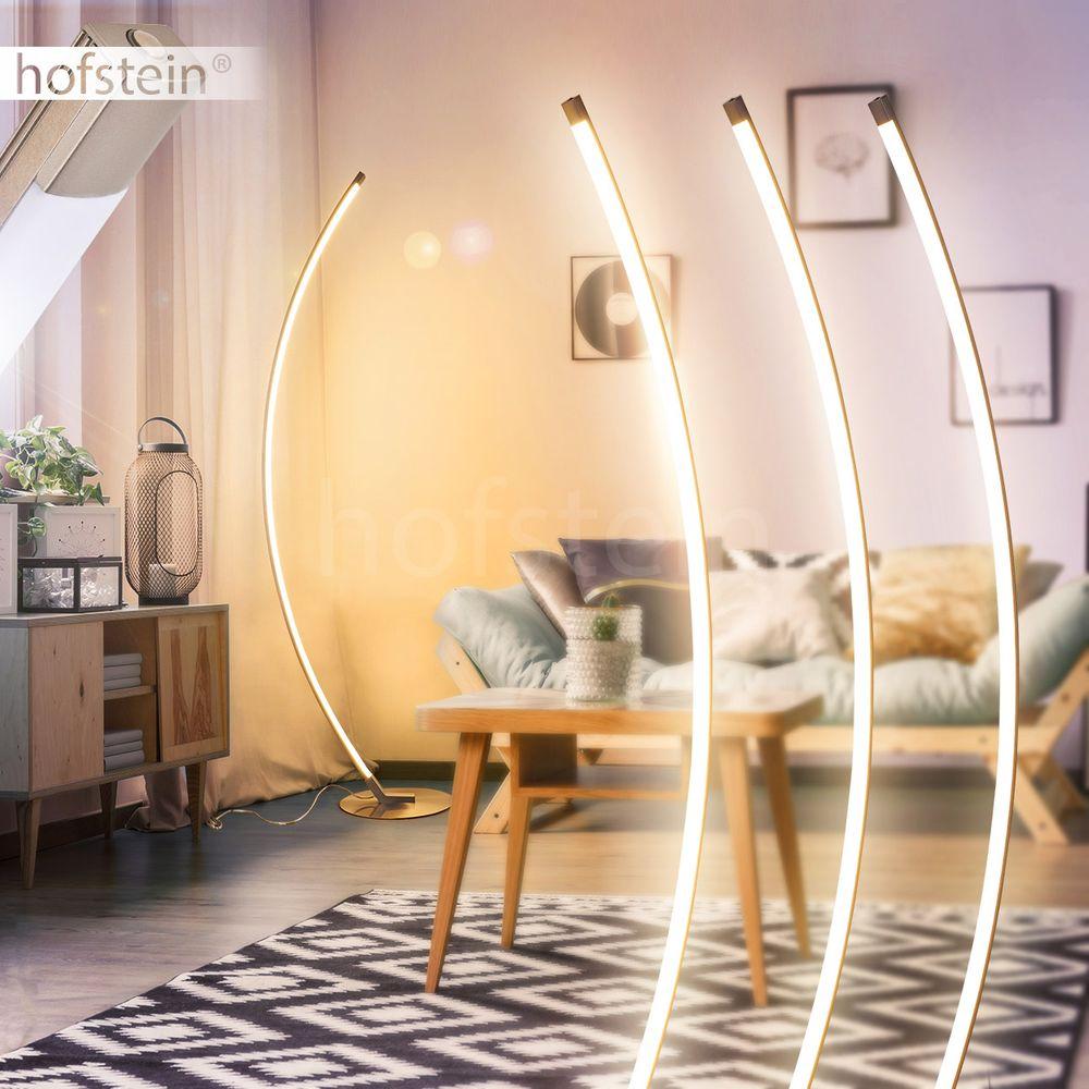 Touchdimmer LED Wohn Schlaf Raum Beleuchtung edle Boden Stand Lampe Steh Leuchte
