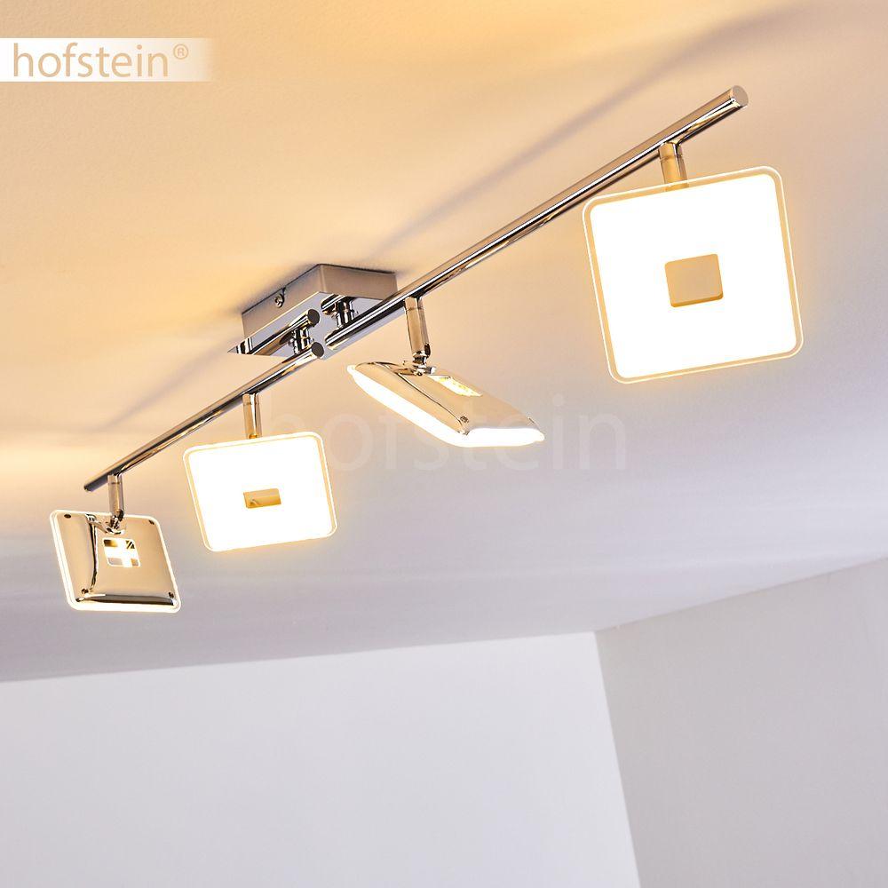 LED Design Decken Lampe Flur Dielen Strahler Wohn Schlaf Raum Leuchte 4-flammig