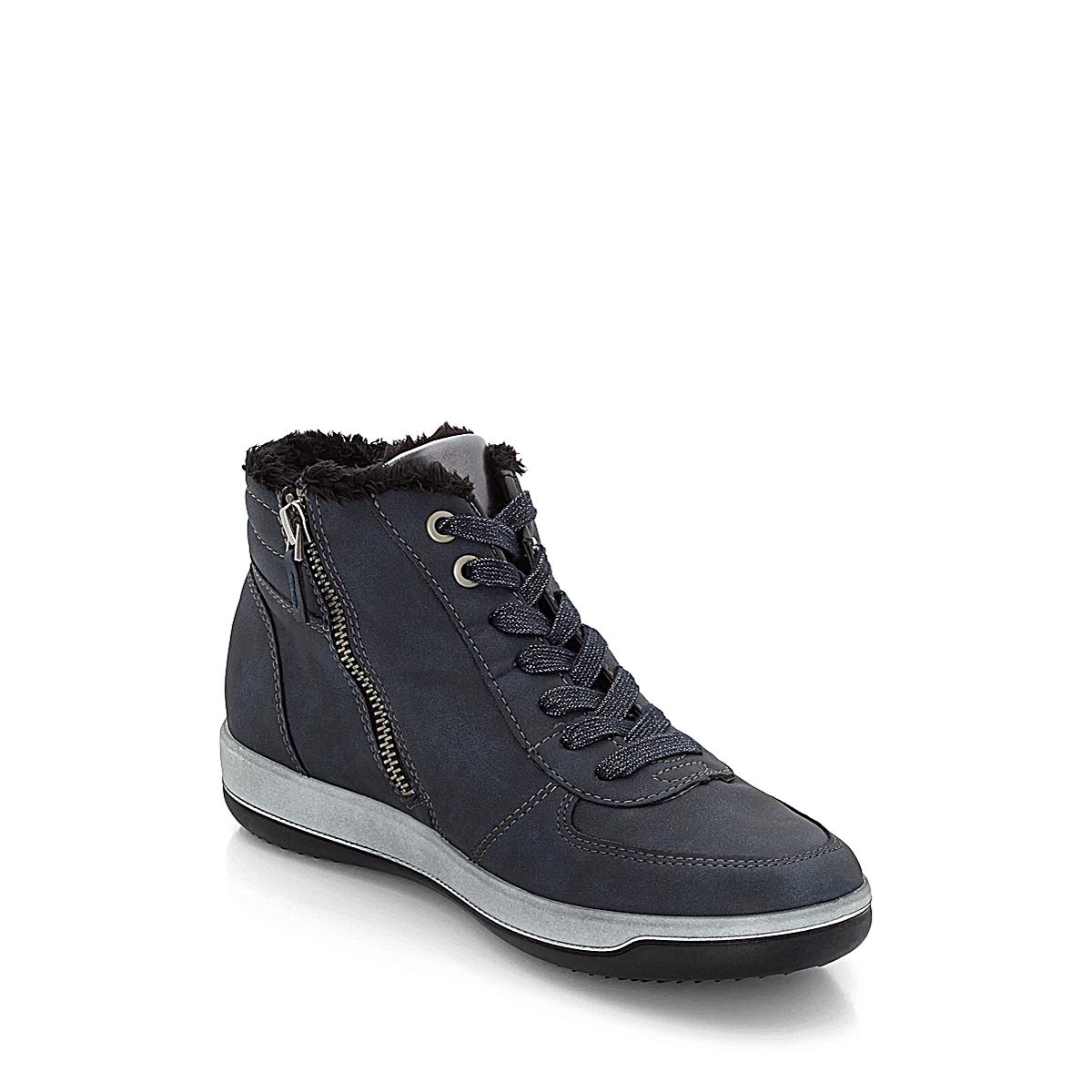 22 Blau High 67 By 68730 Top Damen Jenny Titan Ara Sneaker kXOPuZi