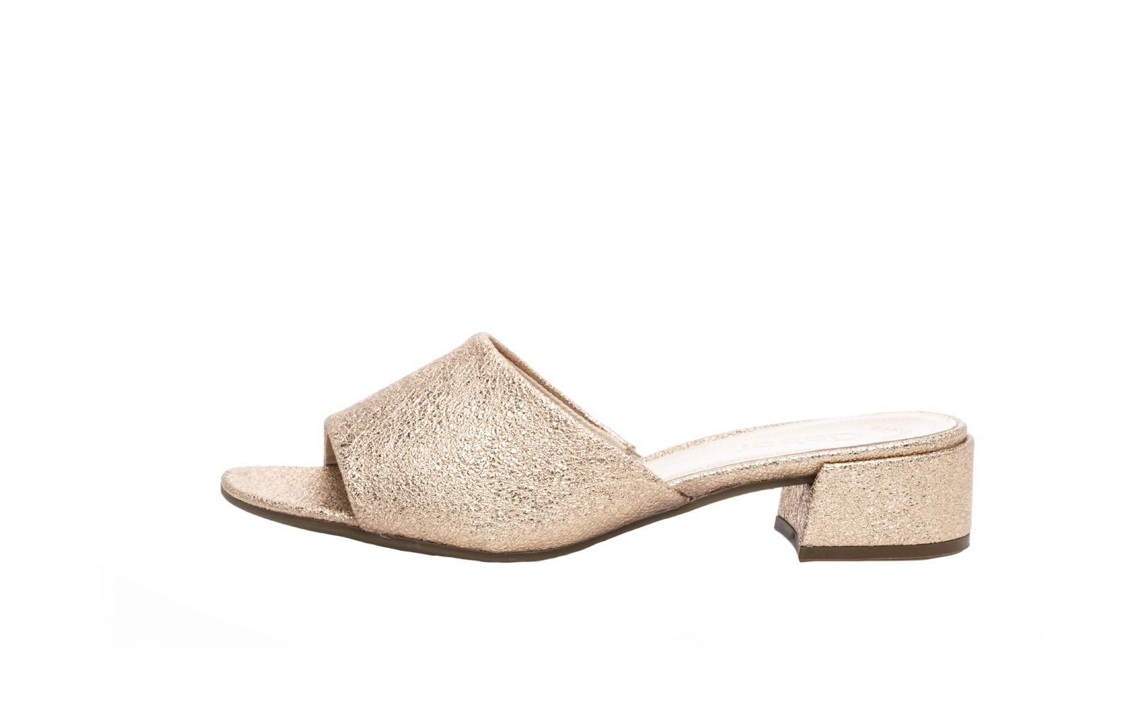 Gabor Damen Pantolette 21.700.64 rosato effekt metallic | Schuhe direkt vom Schuhhändler