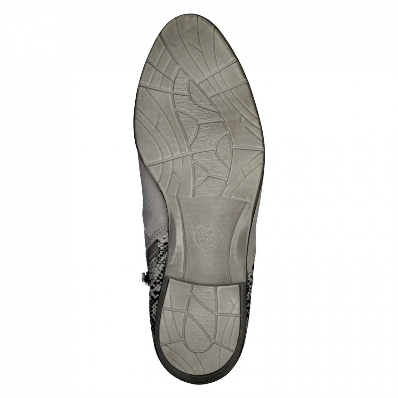 buy online eb449 66e1f JANA Damen Sommer Stiefelette 8-25301-26-200 grau