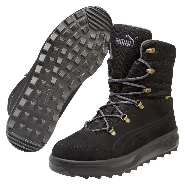 puma schuhe boots stiefel caminar iii gtx black/black