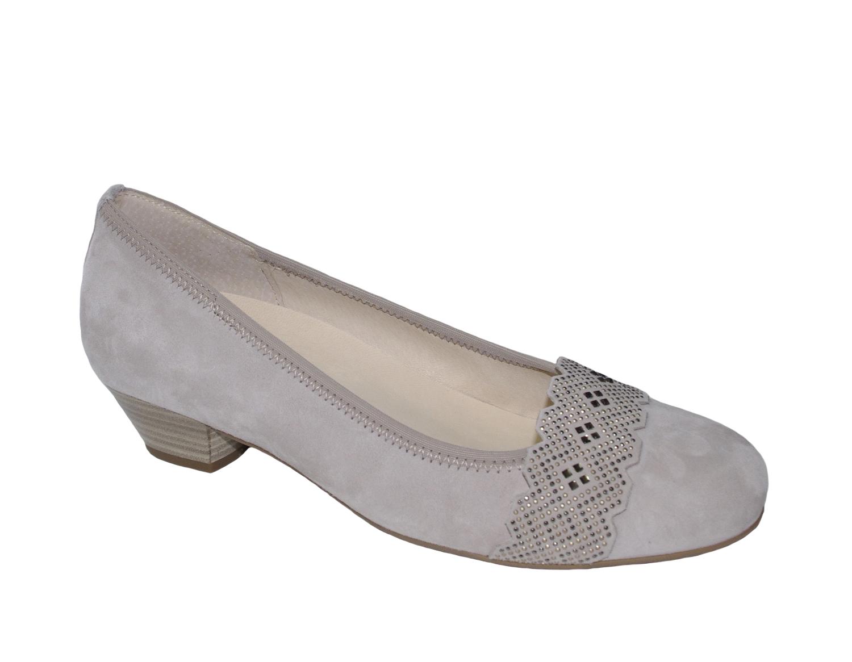 Gabor Schuhe MALTA grau Damenschuhe Pumps 66.134.44 NEU