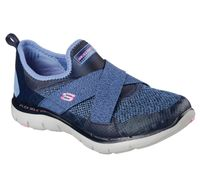 Skechers Damen FLEX APPEAL 2.0-NEW IMAGE 12752/NVY blau