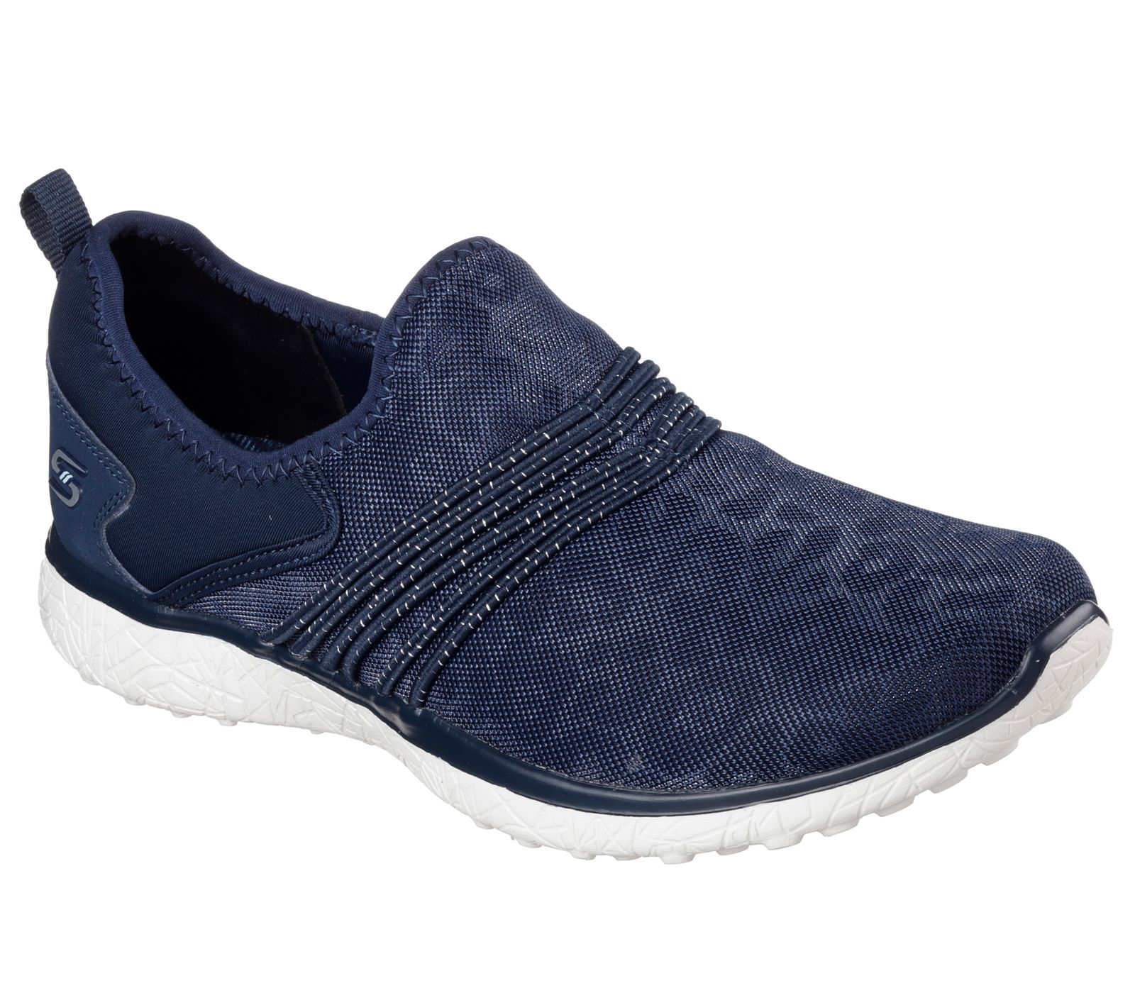 Skechers Microburst under wraps für Damen (blau / 37) qJE4W