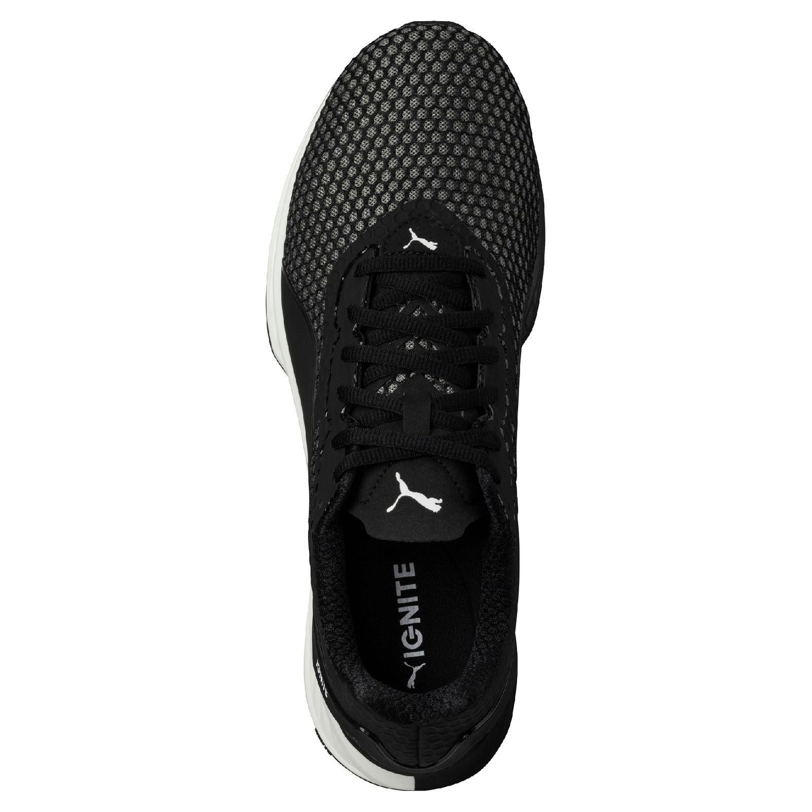 da9b270244b Puma Herren Running-Schuh IGNITE 3 189449-05 Puma Black-White – Bild