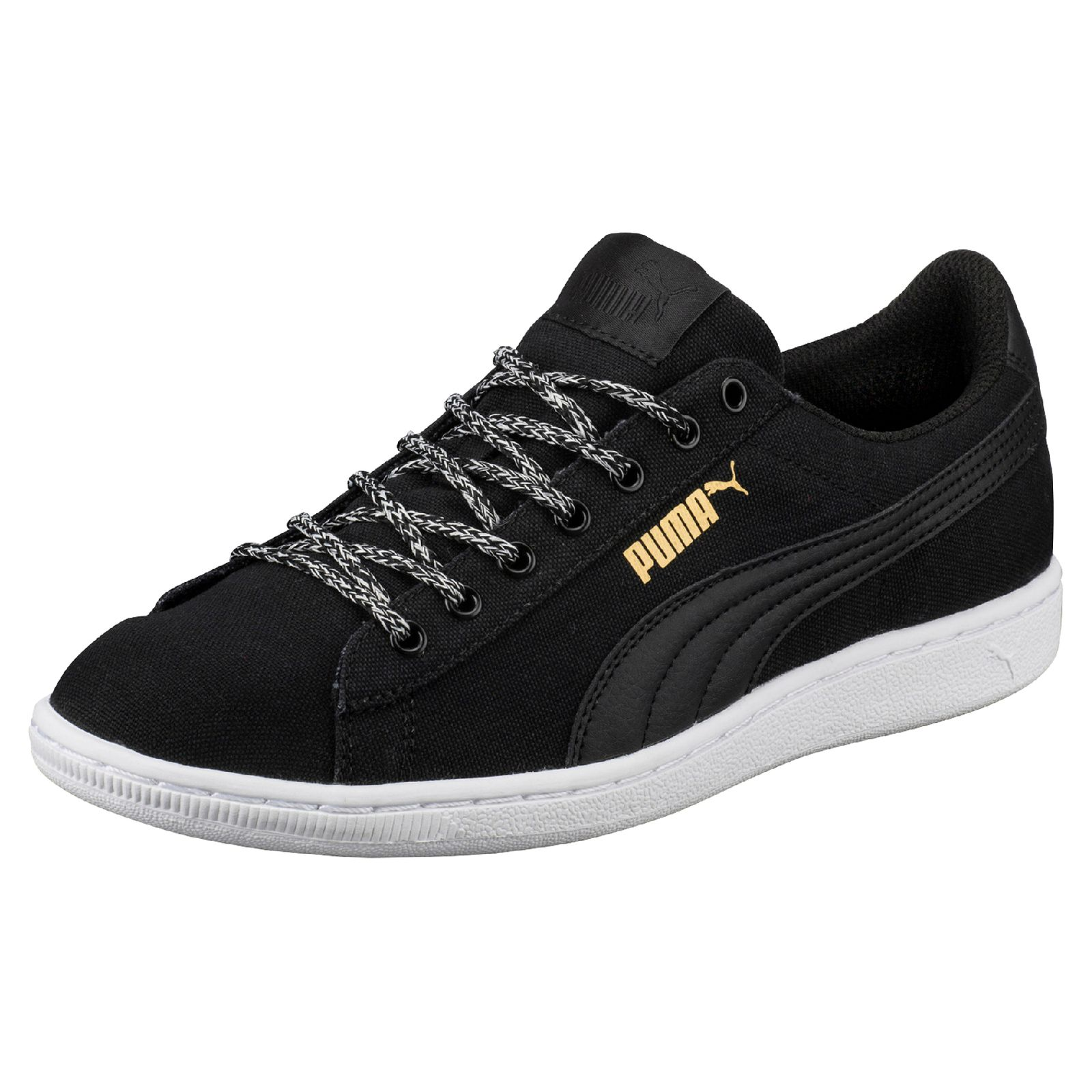 puma damen sneaker vikky spice 362353 02 black damenschuhe. Black Bedroom Furniture Sets. Home Design Ideas
