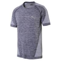 Puma Herren T-Shirt evoKNIT Best Tee 590633-03 QUIET SHADE-white