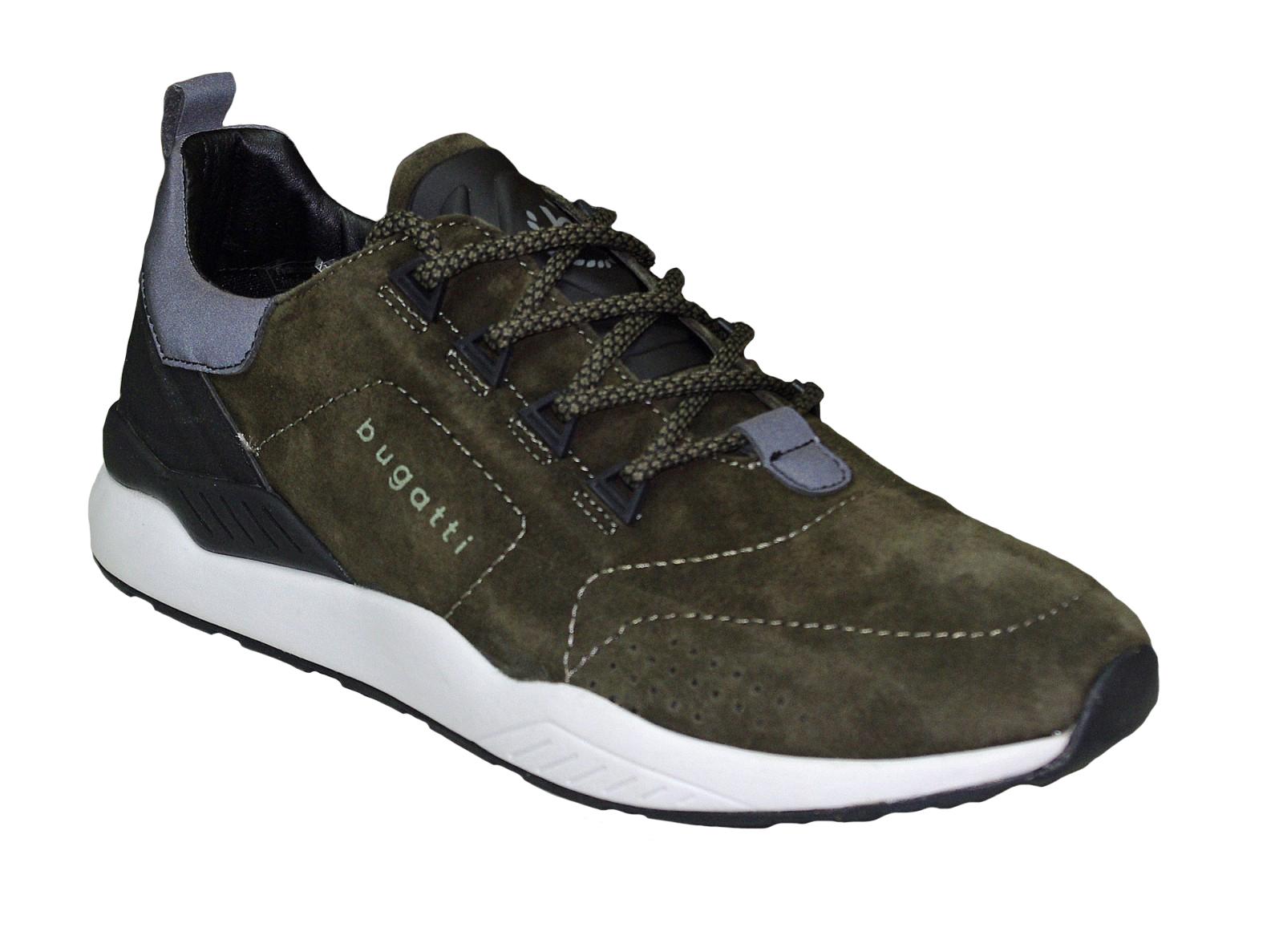 bugatti Herren Sneaker DY0308-5-700 green Herrenschuhe Sneaker 69e67ffeab