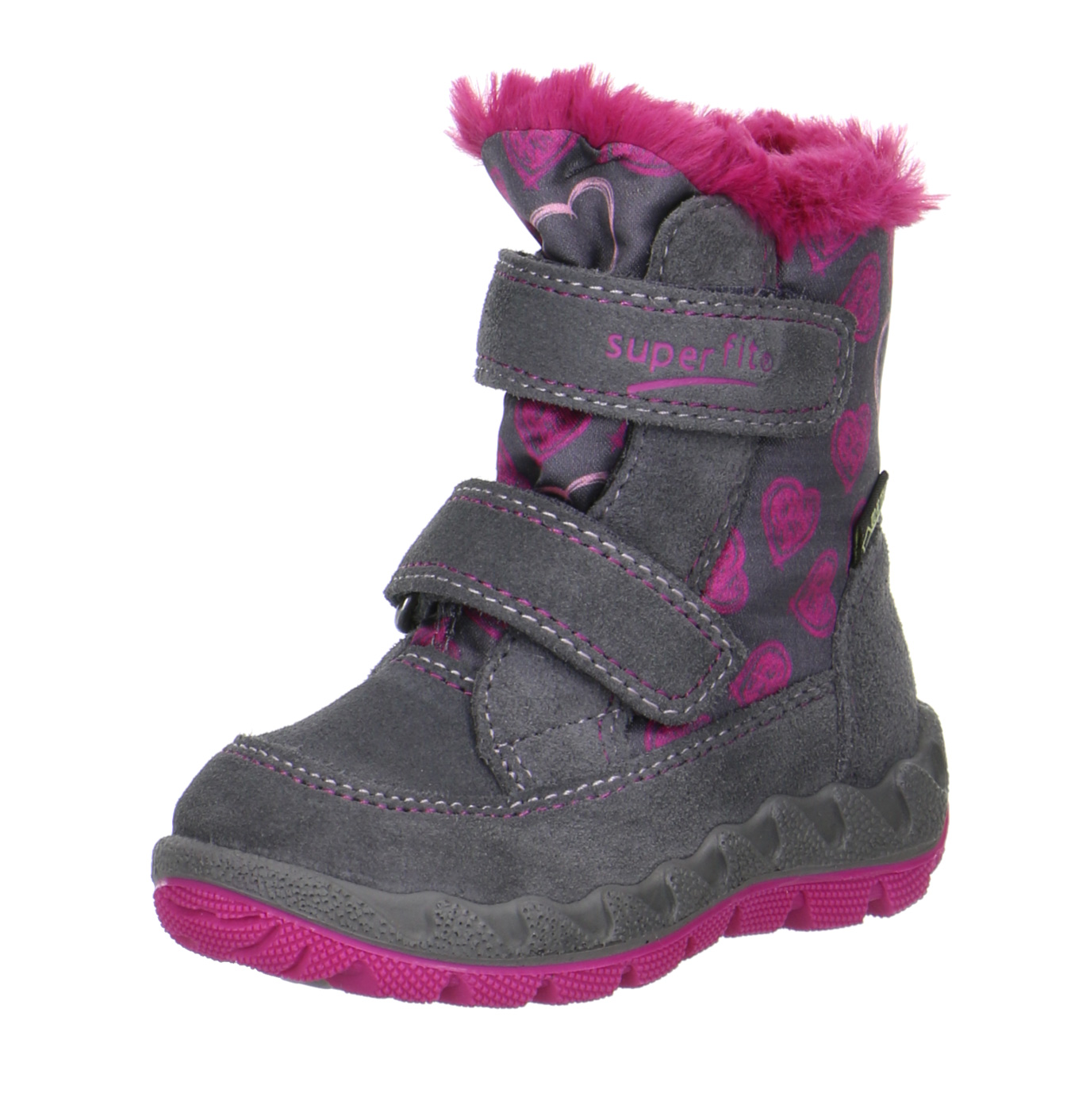 sports shoes 051aa e11ba Superfit Kinder Gore-Tex Stiefel 1-00015-06 stone / pink