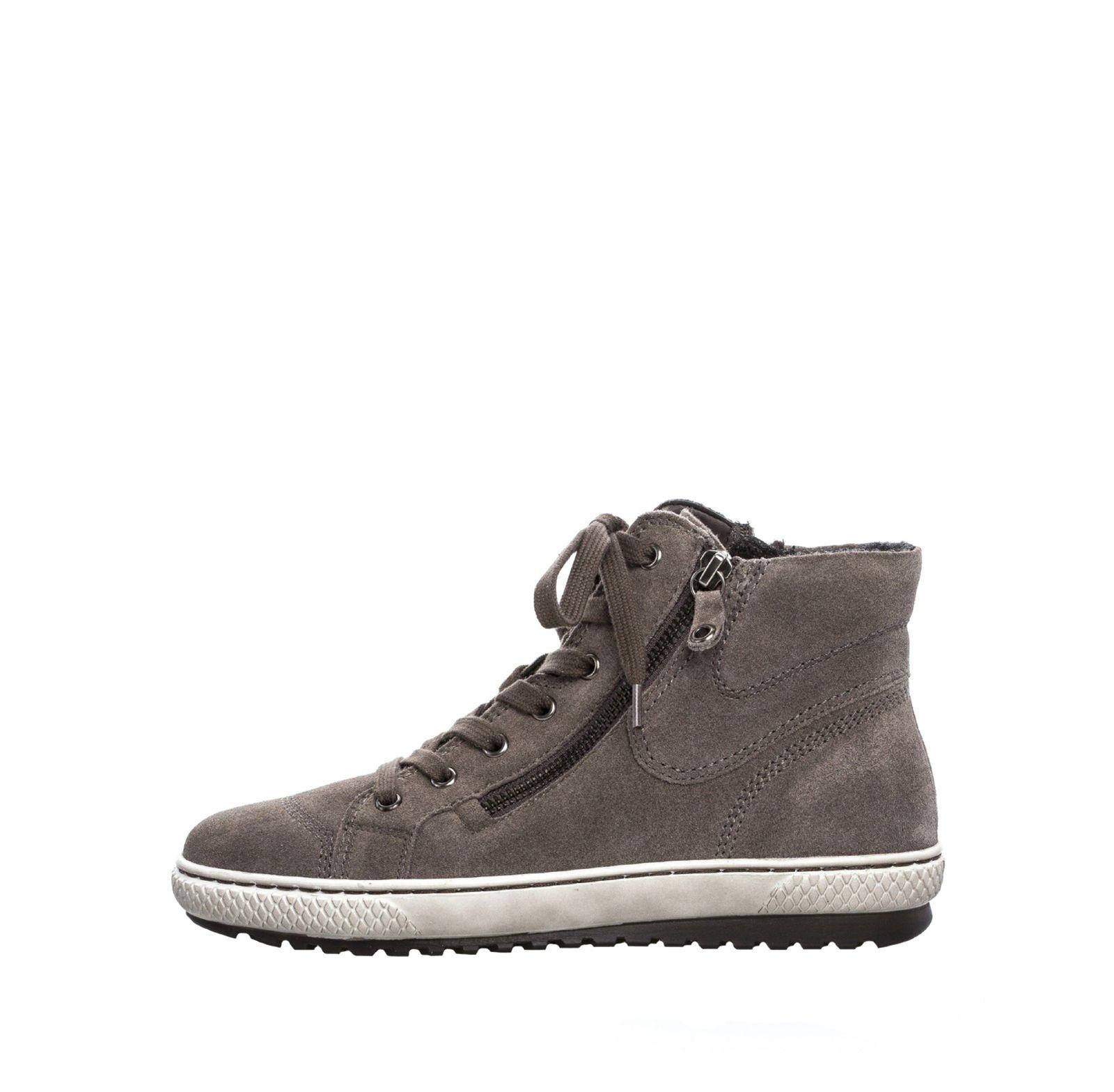 a013fa3852f161 Gabor Damen Sneaker Mid 73.754.13 wallaby beige