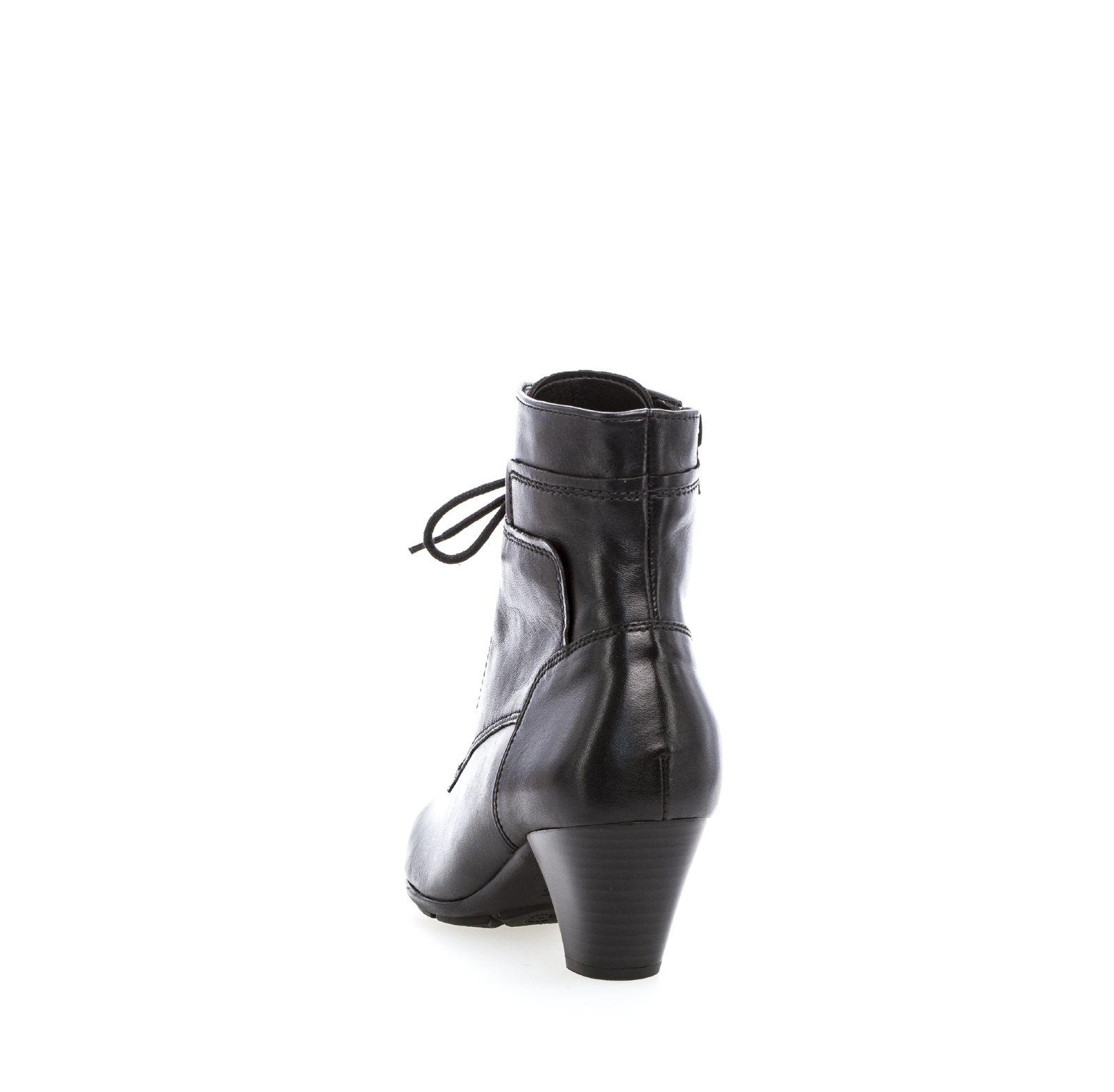 Gabor Damen Schnürstiefelette 75.644.87 schwarz Damenschuhe Stiefel ... f460f14ff4