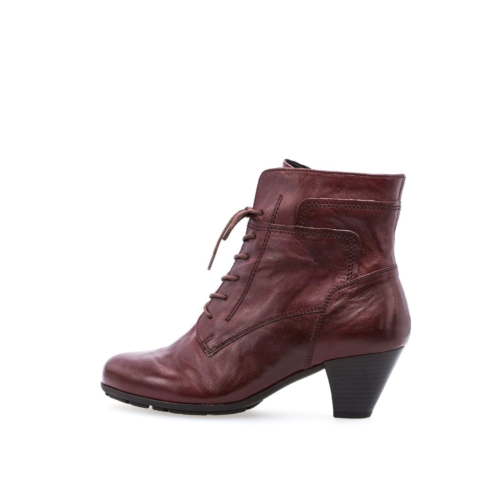 Zu Neu Details Damen Stiefeletten Rot 644 Elegante Gabor 95