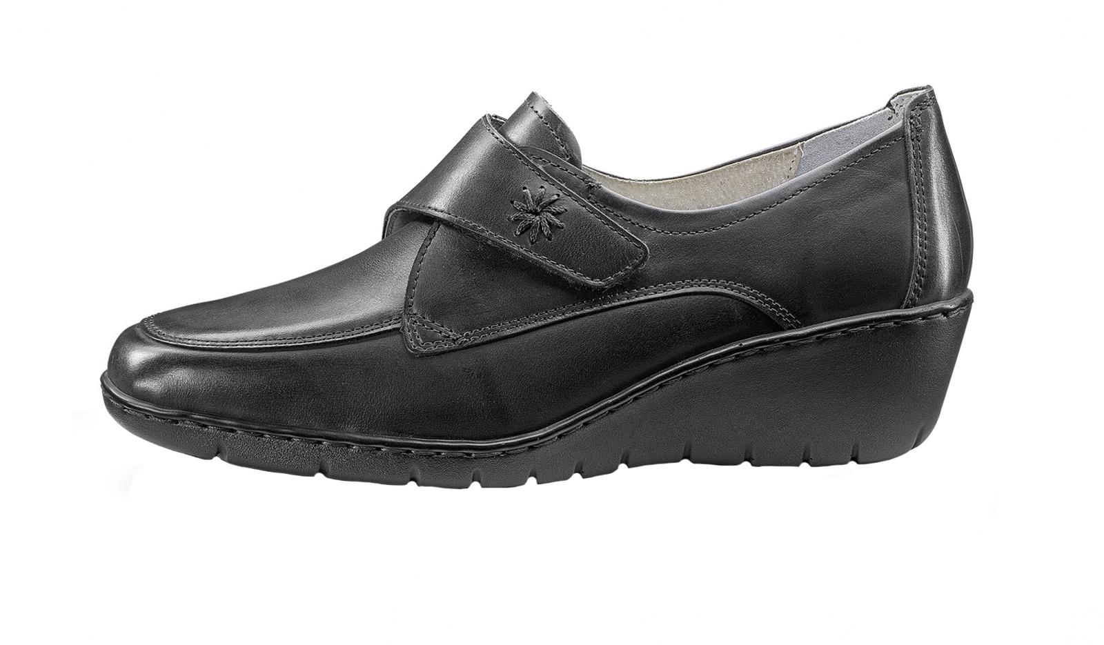 Damen Tamaris Mokassins Leder 25107 22 Schwarz Schuhe