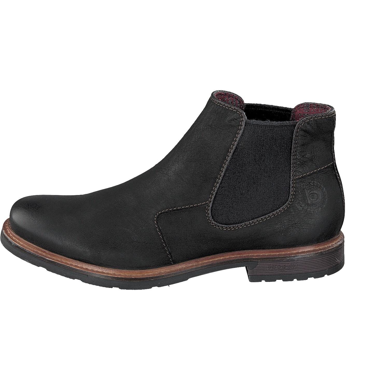 Bugatti Herren Chelsea Boots Vandal 321-34430-3500-1000 schwarz