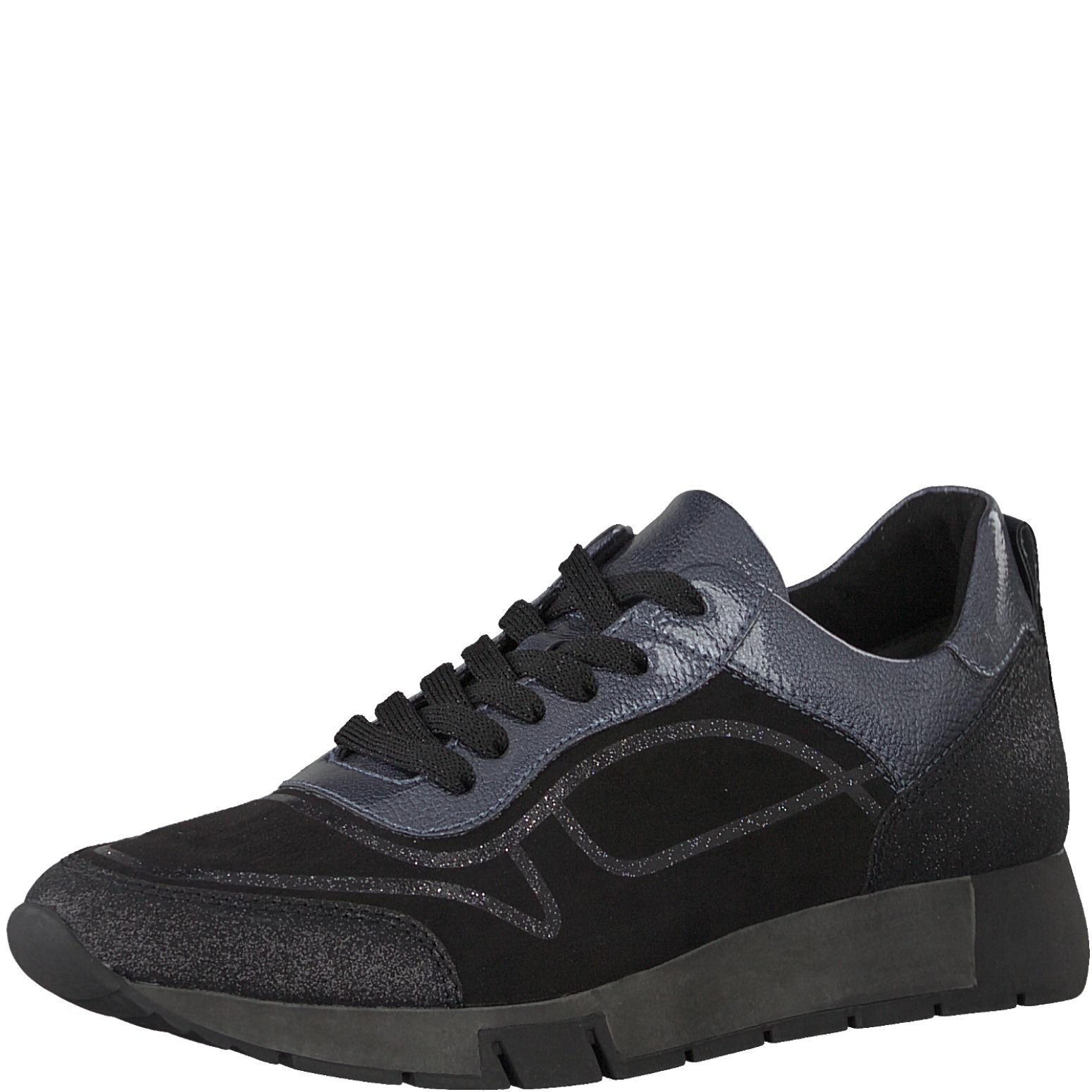 Tamaris Damen Sneaker 1-23718-29-098 schwarz kombi