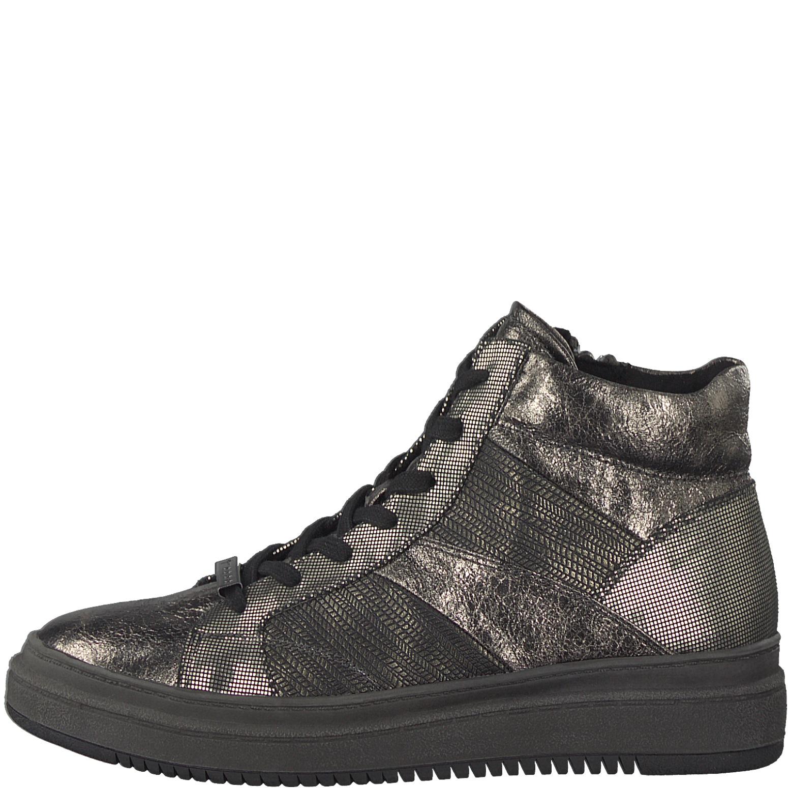 Tamaris Damen Sneaker 1-25224-29-934 platin / anthrait Damenschuhe ...