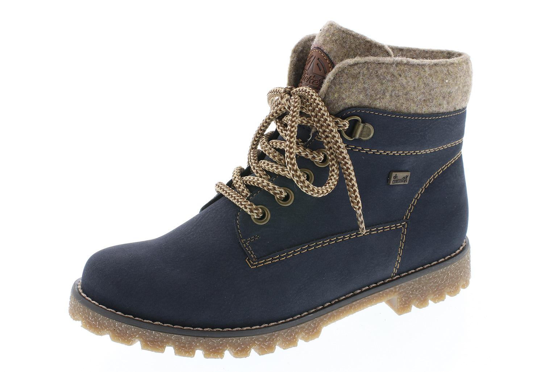 outlet store aa9db 51e8c Rieker Kinder Stiefel K1568-14 pazifik blau