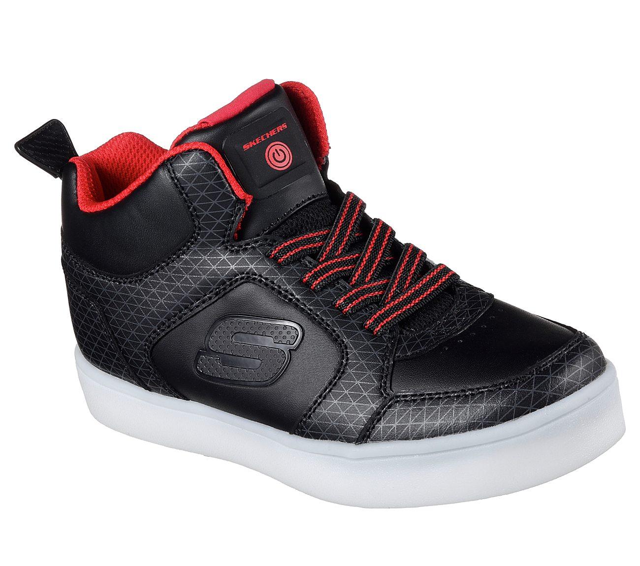 Skechers Kinder Sneaker ENERGY LIGHT 90604L/BKRD schwarz