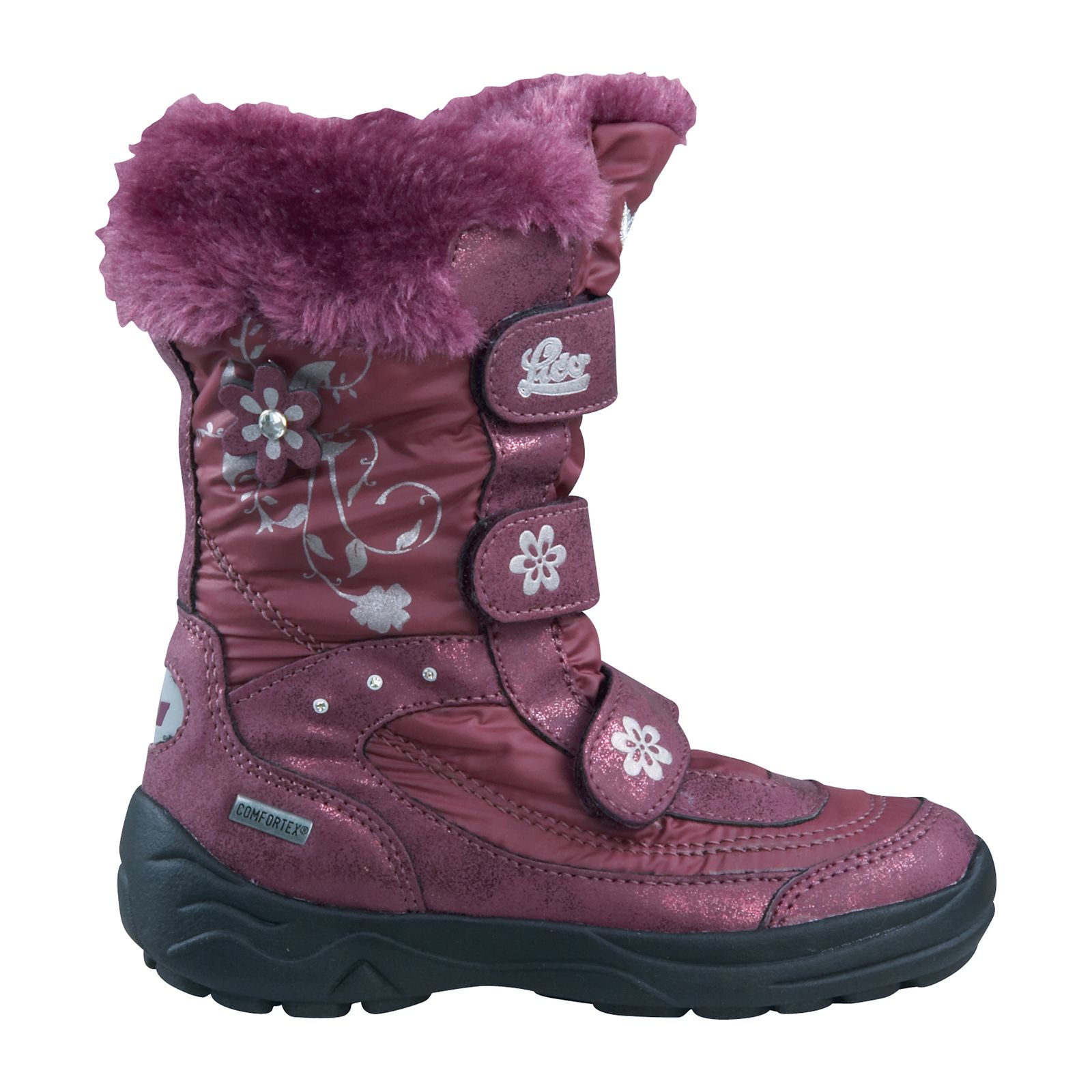 best sneakers 52939 e7f62 Lico Kinder Winterstiefel MARY V 720262 bordeaux / silver
