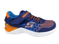 Skechers Kinder Sneaker ULTRAPULSE RAPID SHIFT 97757L/NVOR navy orange