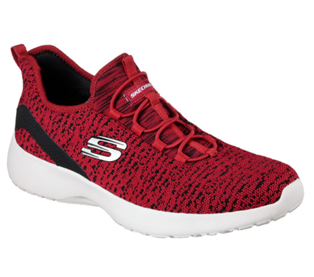 Skechers Herren Sportschuh DYNAMIGHT PINCAY 58357 RDBK rot schwarz ... eac383ed1e