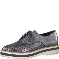 Tamaris Damen Sneaker 1-23753-20-915 pewter metallic