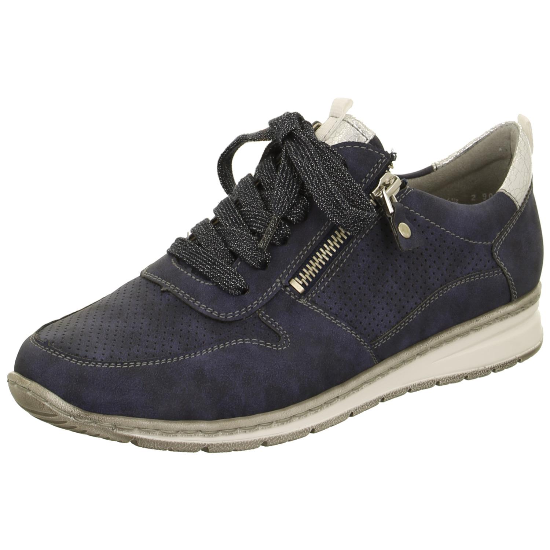 Jenny by ara Damen Sneaker SAPPORO 22-52403-09 blau silber ... 060b017e39