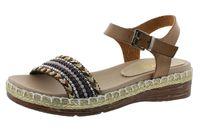 Rieker Damen Sandale V9870-24 braun