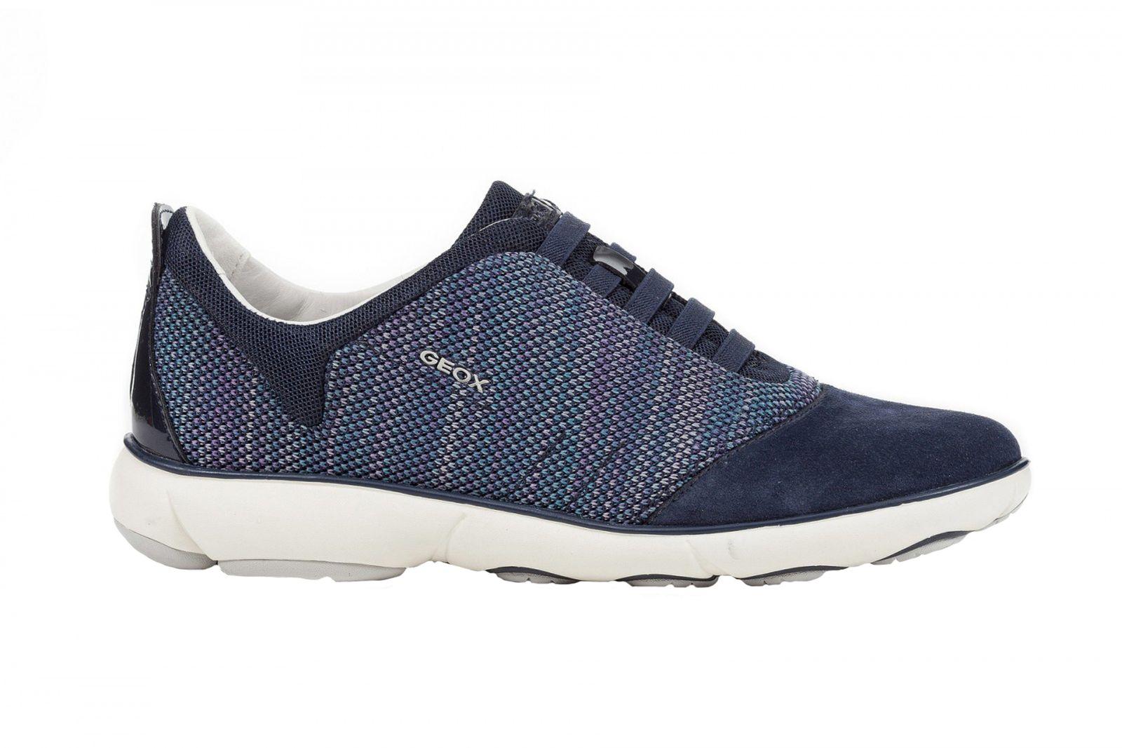 GEOX Damen Sneaker NEBULA D621EC-C4002 navy blau