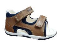 GEOX Kinder Sandale B820XC-C5GF4 caramel / navy