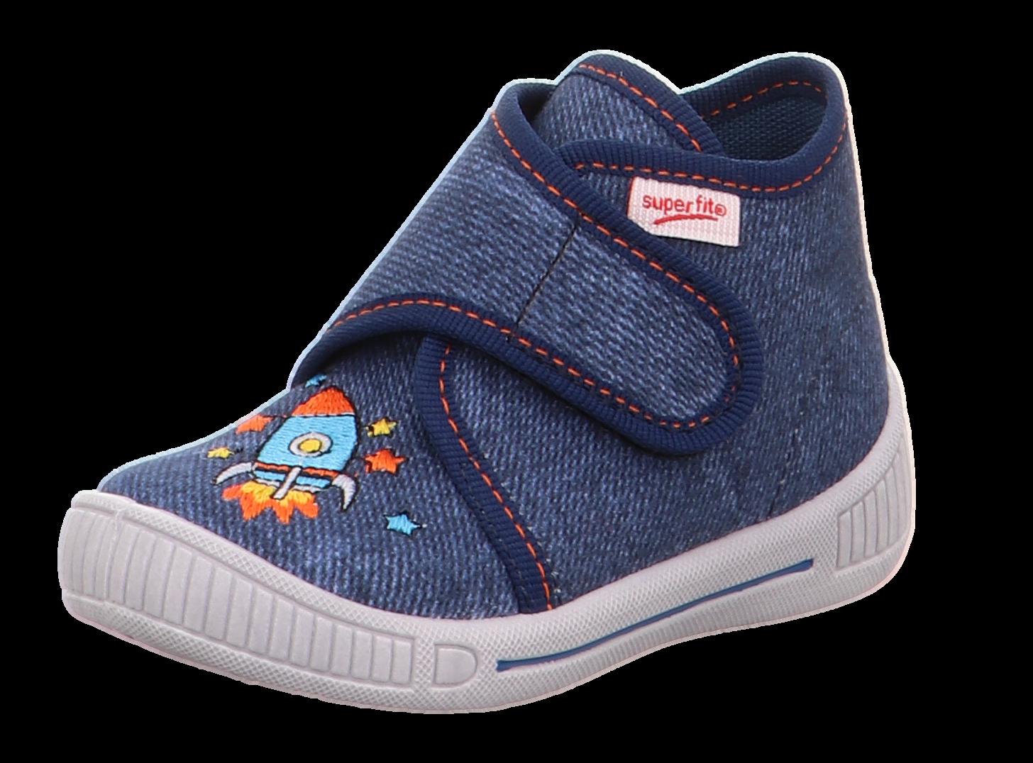 Superfit Kinder Hausschuh 3-00253-80 blau