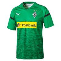 PUMA Herren T-Shirt BMG 3rd Shirt Replica with Sponsor Logo 753458-03 hellgrün