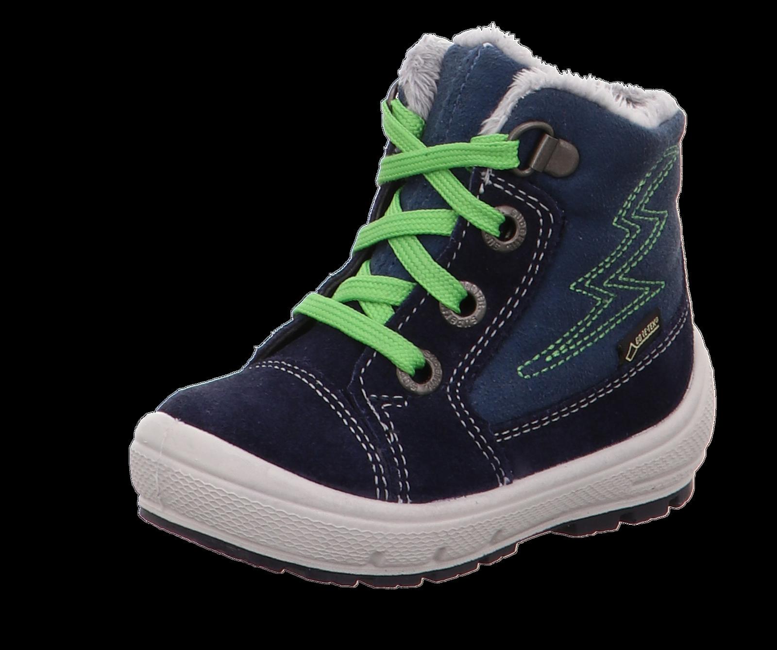pretty nice 3c72e 0a305 superfit Kinder Gore-Tex Stiefel 3-09306-80 blau/grün