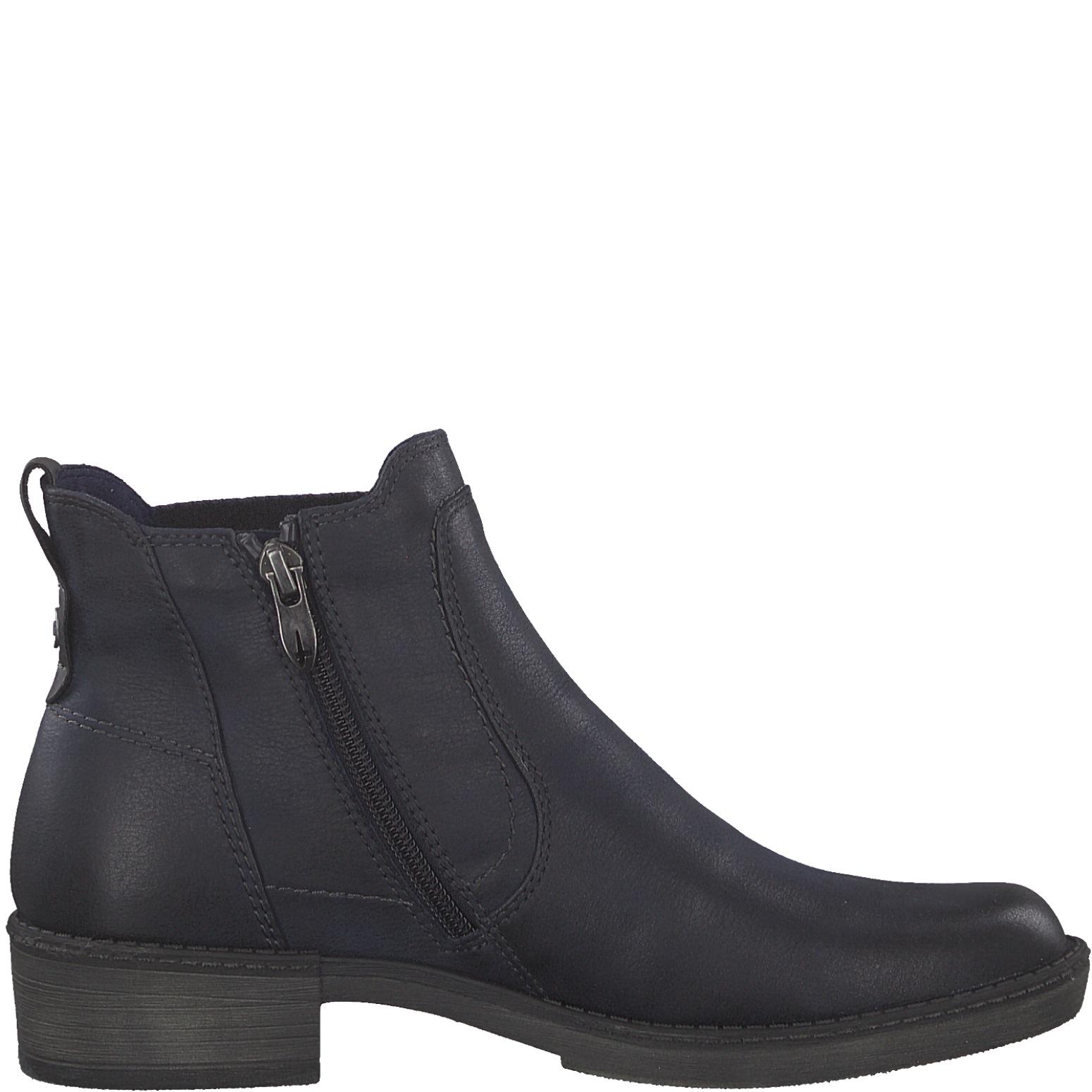 best choice factory price save up to 80% Tamaris Damen Stiefelette / Chelsea Boots 1-25309-21-805 navy blau