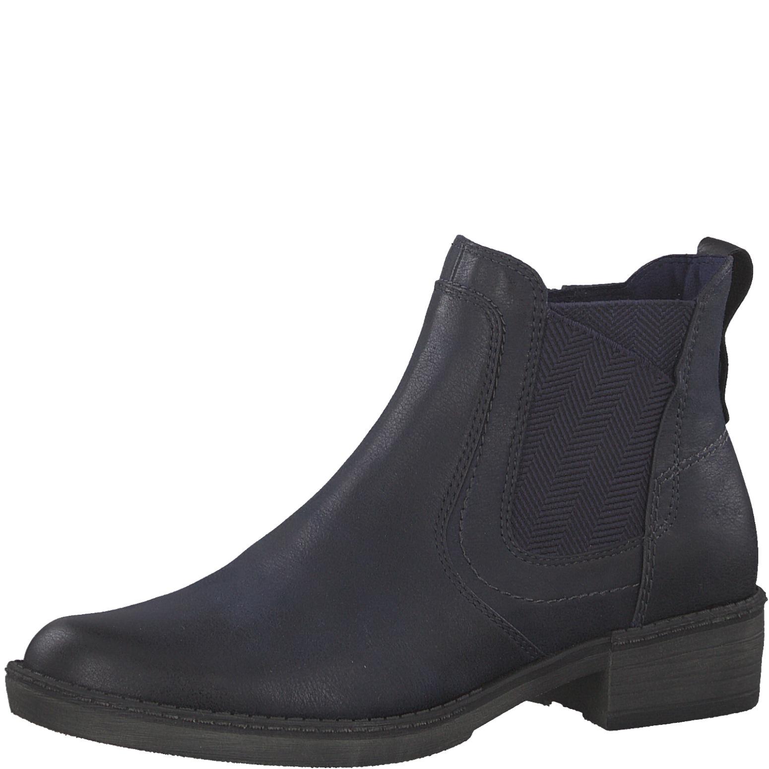 outlet erster Blick populärer Stil Tamaris Damen Stiefelette / Chelsea Boots 1-25309-21-805 navy blau | Schuhe  direkt vom Schuhhändler